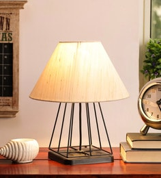 Beige Jute Table Lamp - 1705578