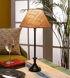 Beige Jute Table Lamp - 1679991