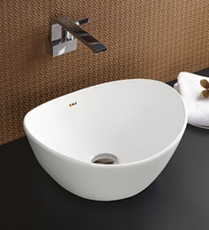 Bell Voyager White Ceramic White Basins