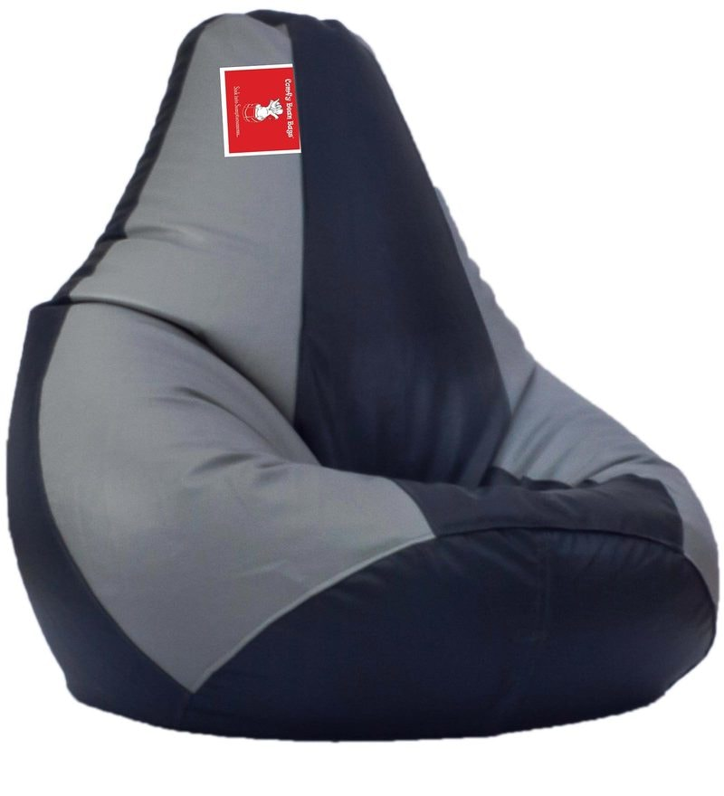 Bean Bag Cover in Indigo Grey Colour by Comfy Bean Bags
