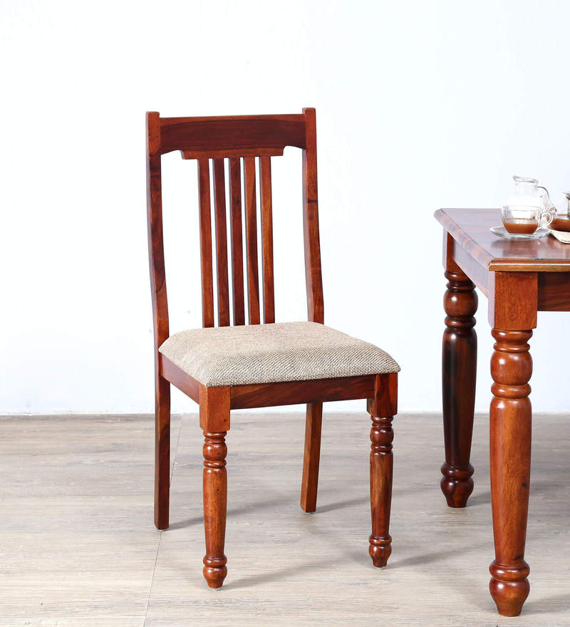 Beaufort Dining Chair in Honey Oak Finish by Amberville