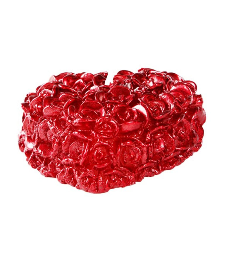 Buy Market Finds Red Heart Floating Candle Online