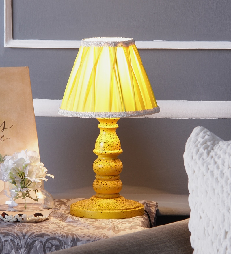 Buy The Lamp Store Brown Poly Cotton Lamp Shade Online - Lamp ...
