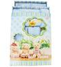 Belle Maison Blue 9-piece Baby Bath Robe Set - Large