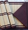Belle Maison Straw Table Placemat with Napkin - Set of Four