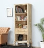 Marlesford Book Shelf in Lime Wash Finish by Amberville
