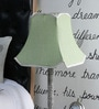 Green Poly Cotton Lamp Shade by Beverly Studio