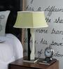 Beverly Studio Yellow Khadi Table Lamp