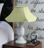 Yellow Poly Cotton Table Lamp by Beverly Studio