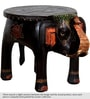 Bhargava Hand Painted End cum Coffee Table by Mudramark