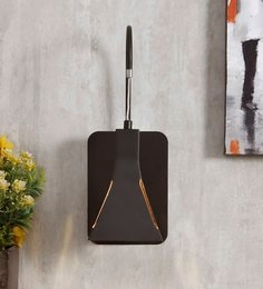 Black And Gold Metal Wall Light - 1655171