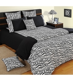 573 Options In Bed Sheets. Black Cotton Single Size Bedsheet   Set Of 2