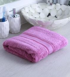 Pink 100% Cotton Bath Towel - 1644737