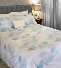Blur 210 TC 100% Cotton King Size Bedsheet With 2 Pillow Covers ...
