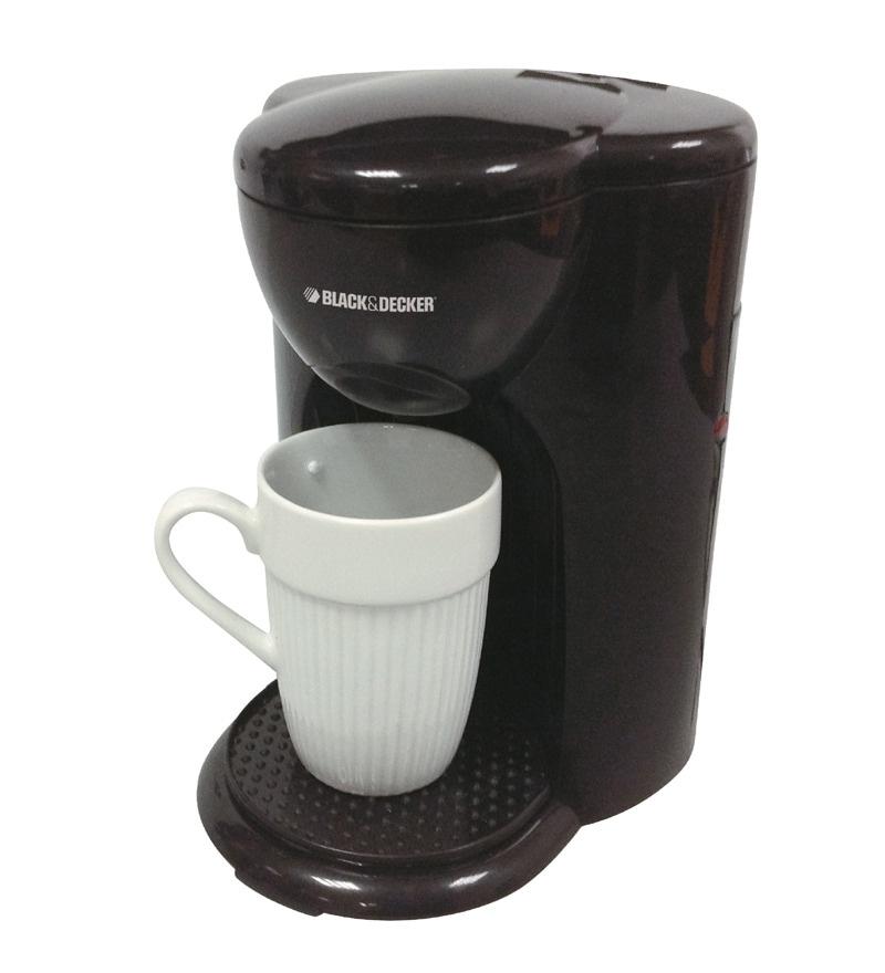 Black Amp Decker Dcm25 B5 1 Cup Drip Coffee Maker By Black