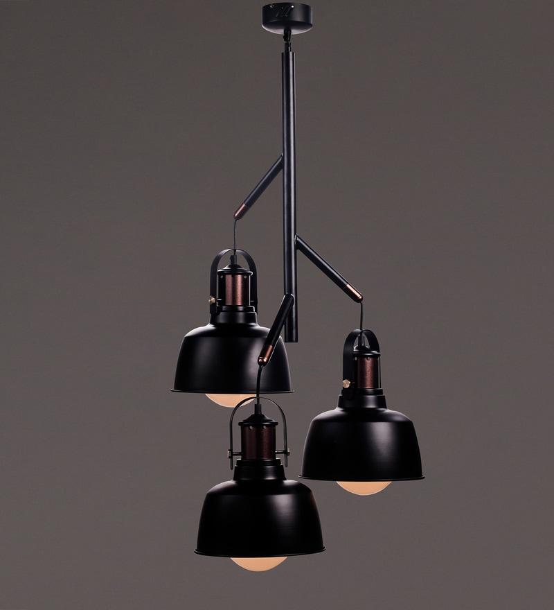 Black Aluminium Pendant by Voylite