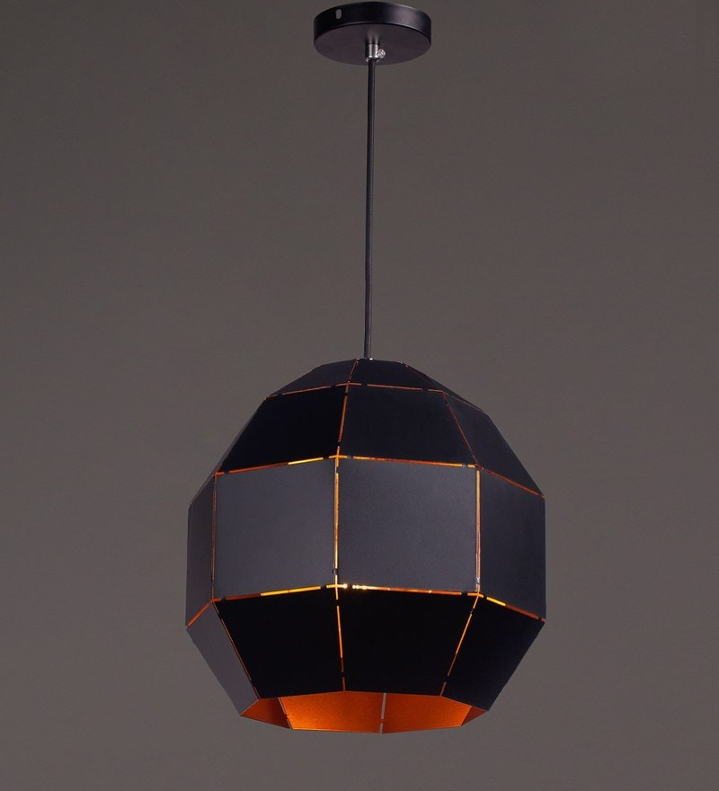 Black Iron Pendant by Voylite