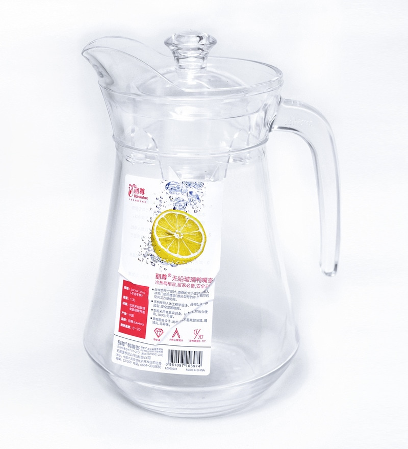 Blinkmax Aqua Cool Glass 1.2 L Jug