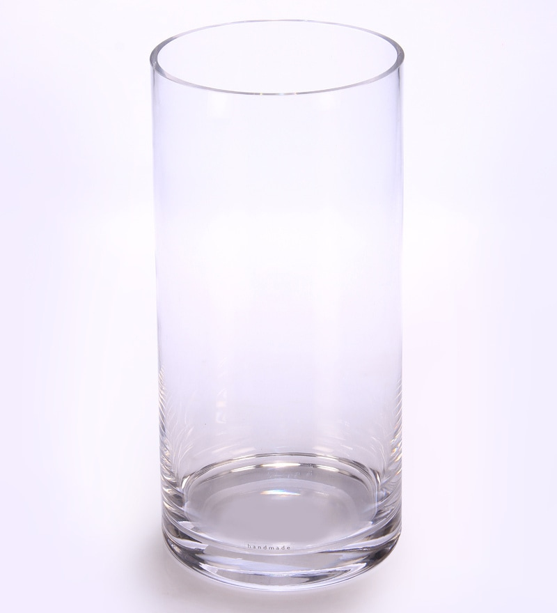 Buy Bloomfields Clear Glass Lsa Column Vase Online Vases Vases