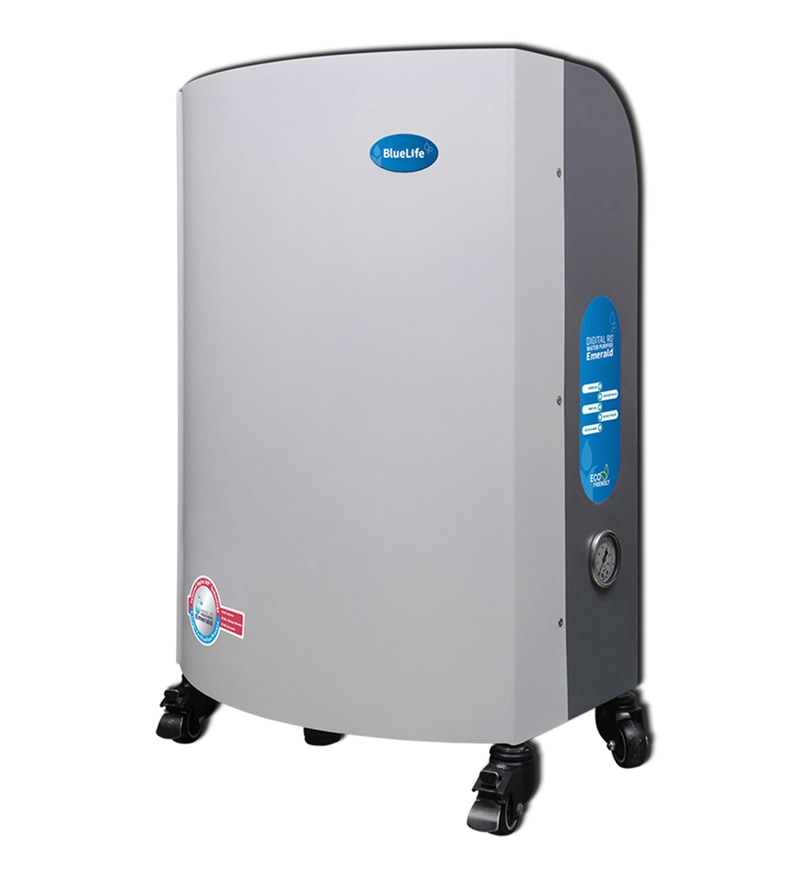 BlueLife Emerald Digital RO+UV Water Purifier for Higher Consumption Environment