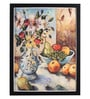 Bloomfields Premium Digital Paper 20 x 26 Inch Flower with Fruit by Johan Milan Framed Digital Art Print