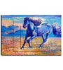 Engineered Wood 30 x 20 Inch Horse Framed Art Panel by Hashtag Decor