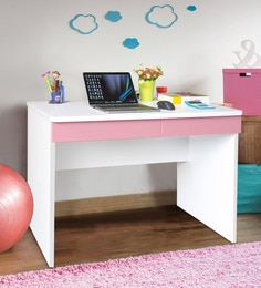 Boston Study Table In Pink