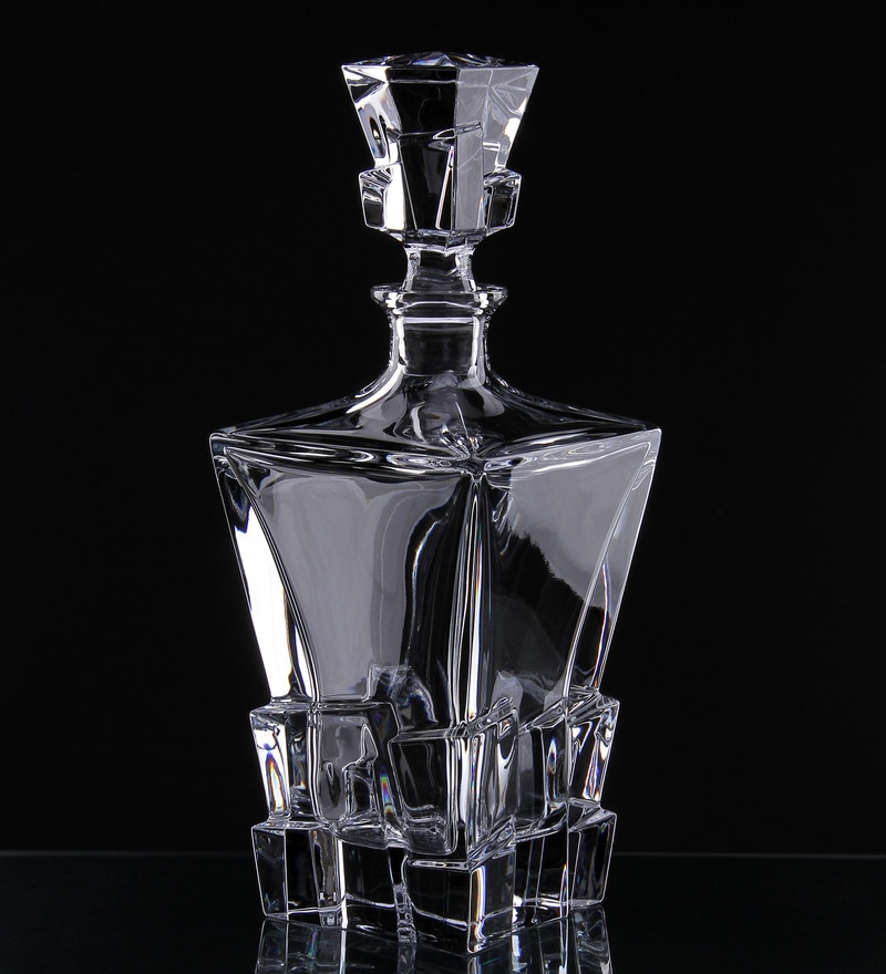 Buy Bohemia Crystal Crack 800 Ml Decanter Online