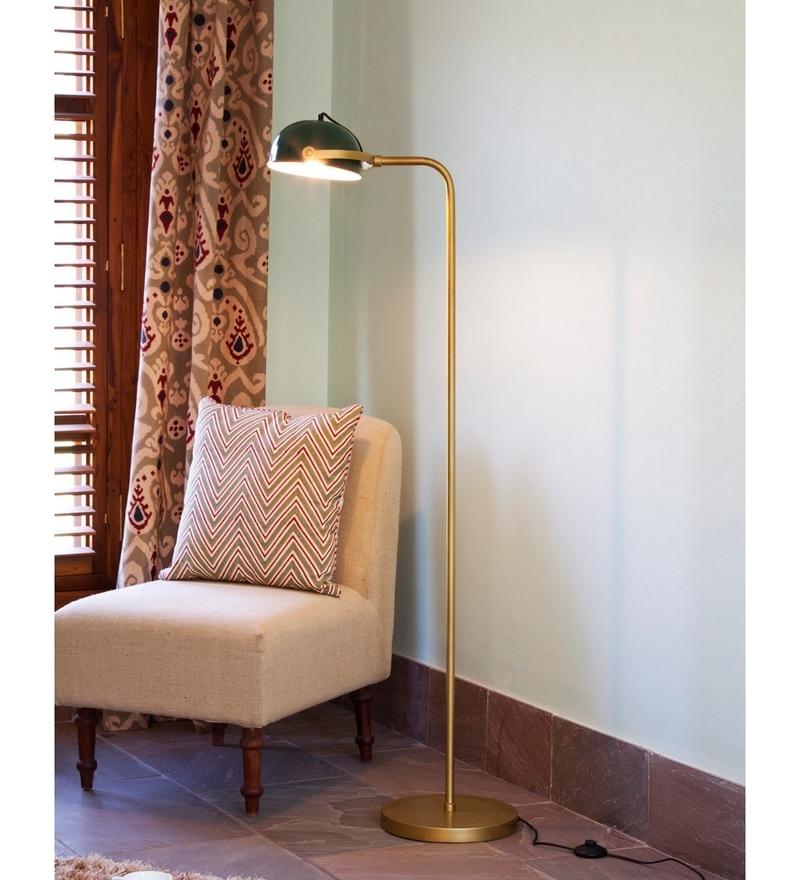 Argo Floor Lamp in Green by Bohemiana