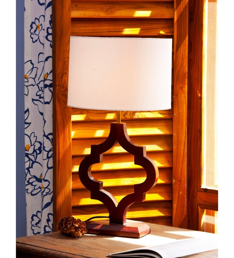 Estelle Table Lamp in Off White by Bohemiana