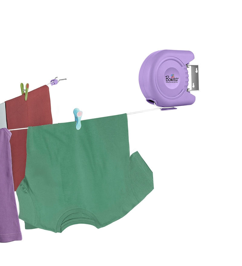 Bonita Delight Plastic Purple Clothes Line