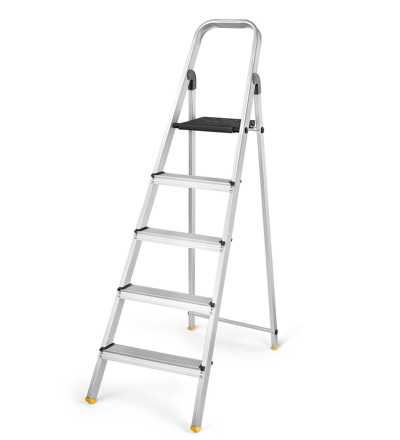 Bonita Securestep Black 5 Step 4.9 FT Ladder