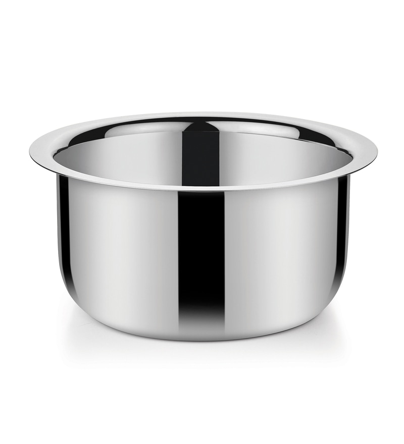Stainless Steel 2.4 L Hearty Milk Pan by Bonita