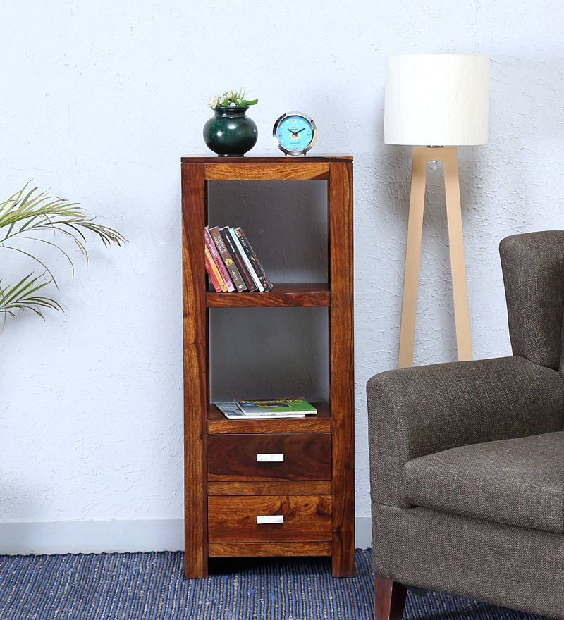 Oriel Book Shelf In Honey oak Finish By Woodsworth