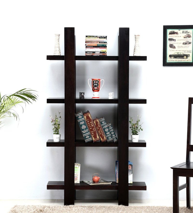 Eileen Book Shelf in Warm Chestnut Finish by Woodsworth
