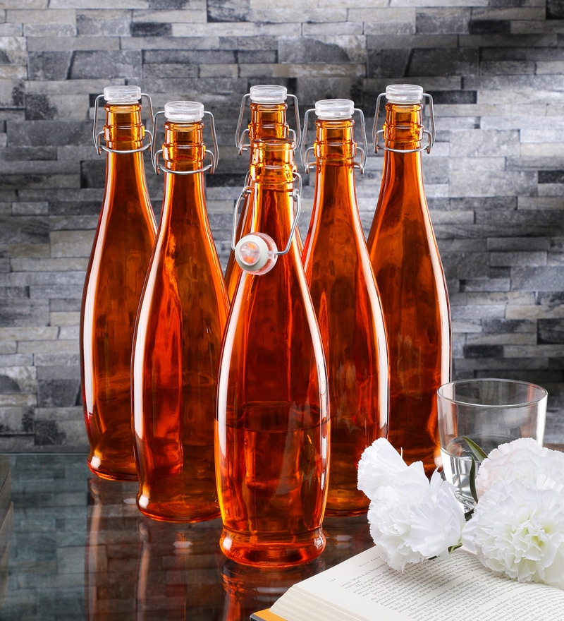 Borgonovo Alighieri Orange Glass 1 L Bottle