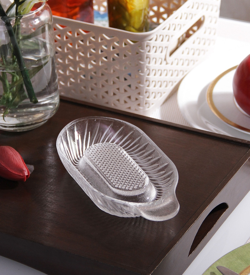Borgonovo Glass Apple Grater