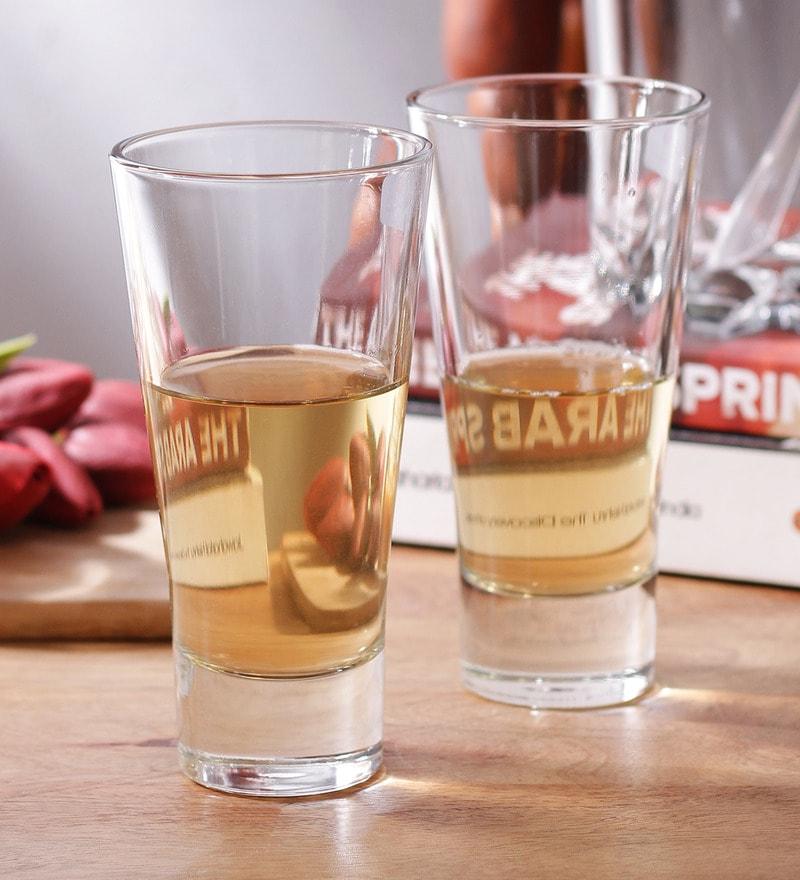 Borgonovo Hiball Glass 350 ML Glass - Set Of 6
