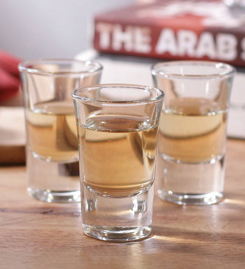 Borgonovo Junior Glass 35 ML Shot Glass - Set Of 6