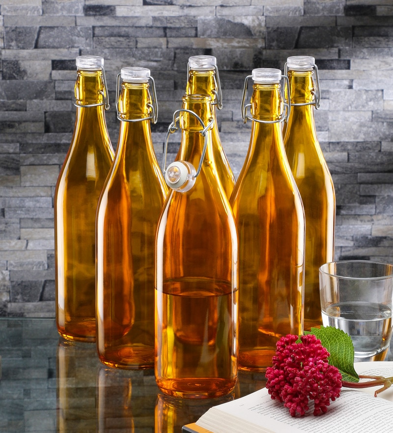 Borgonovo Lella Glass 1 L Bottle