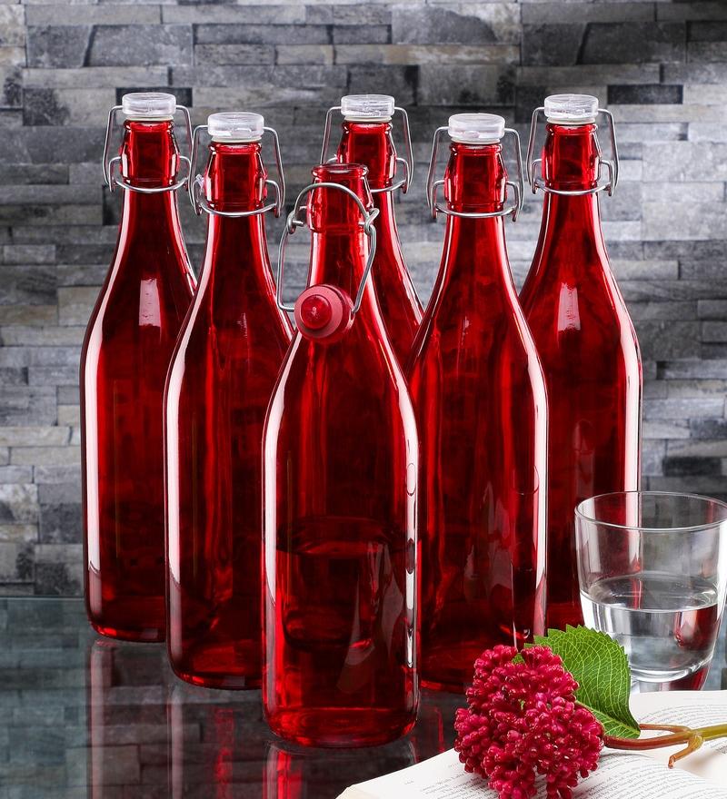 Borgonovo Lella Red Glass 1 L Bottle