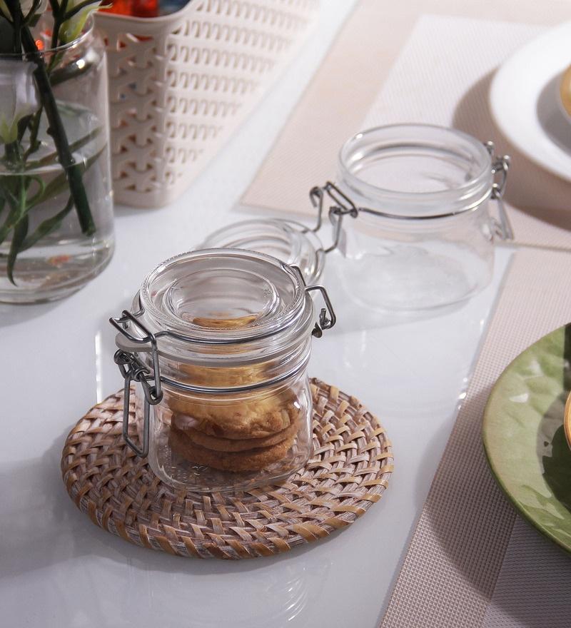 Borgonovo Primizie Hermet Cylindrical 200 ML Food Jar