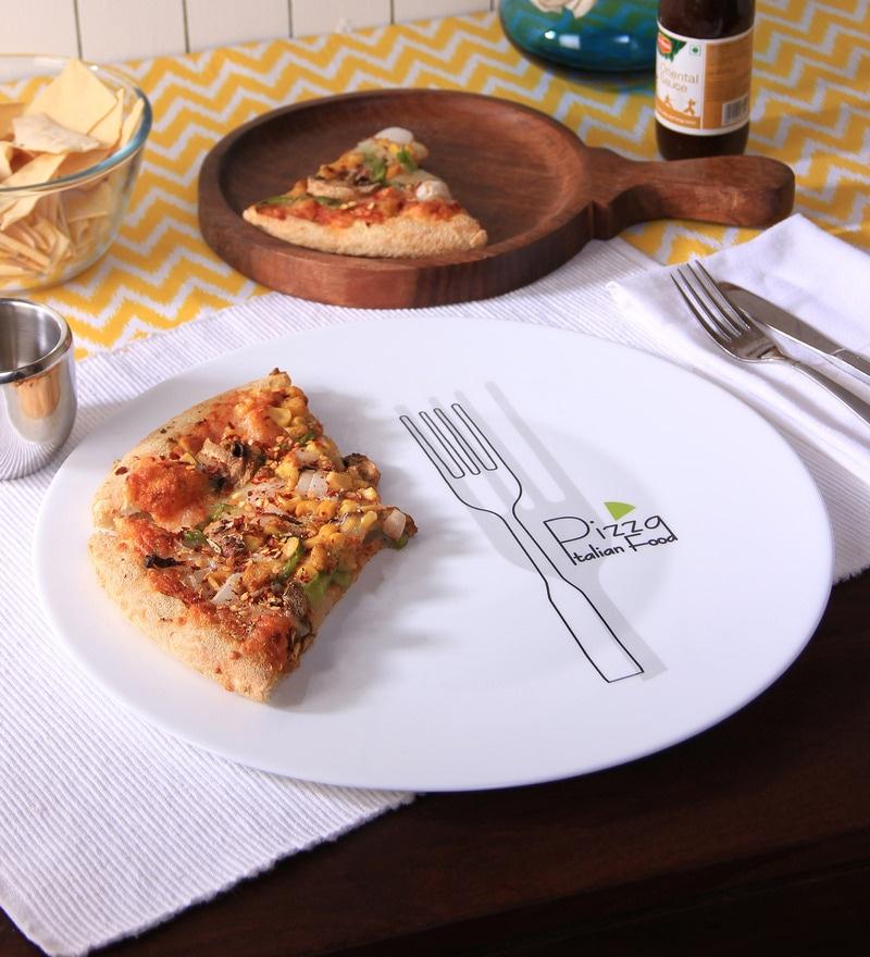 Bormioli Rocco Fork Opalware Pizza Plate