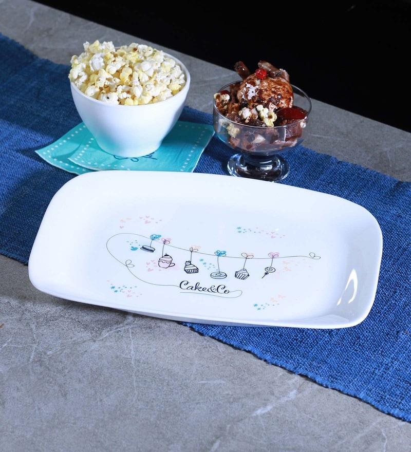 Bormioli Rocco Parma Glass Platter