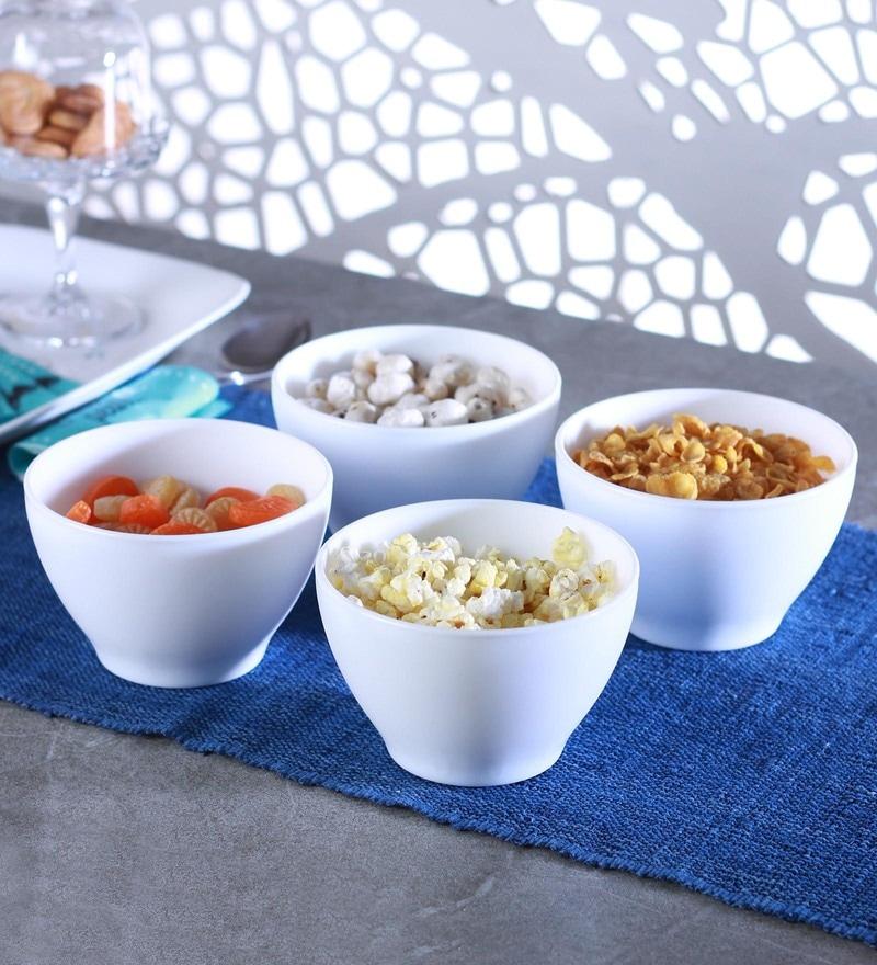 Bormioli Rocco Toledo Glass Bowls - Set of 4