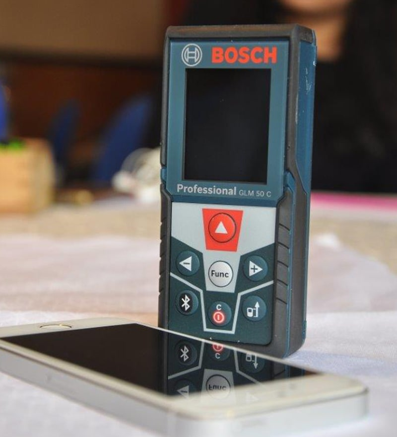Bosch Glm 50 C Professional  Laser Measure with Bluetooth & Backlit Display