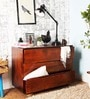 Freemont Chest of Three Drawers in Provincial Teak Finish by Woodsworth
