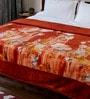 Browns Polyester Queen Size Blanket 1 Pc by Bombay Dyeing
