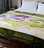 Bombay Dyeing Whites Polyester Queen Size Blanket 1 Pc