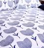 Bombay Dyeing GREY Cotton King Size Bedsheet - Set of 3